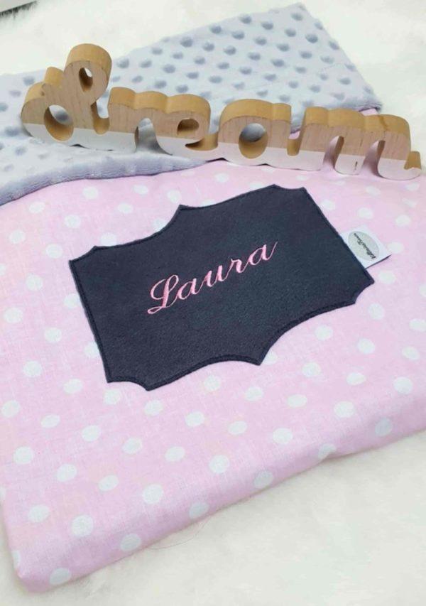 Decke mit Namen