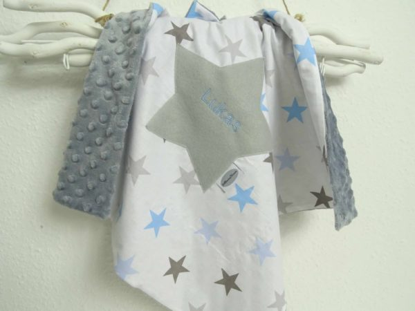 Babydecke Sterne