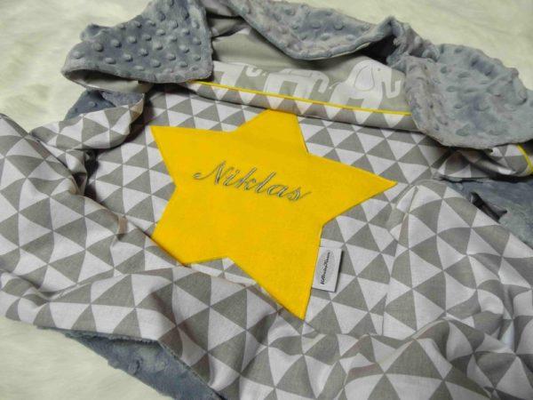 Babydecke gelb Niklas