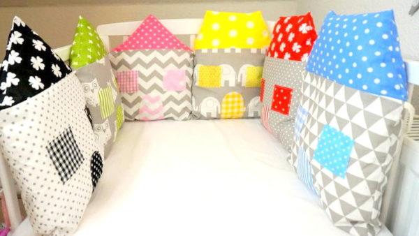 Nestchen bunte Häuser