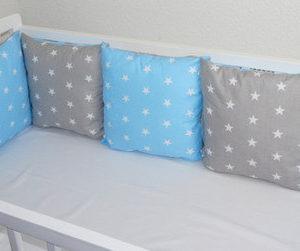 Nestchen Sterne blau