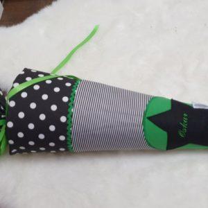 Schultüte grün