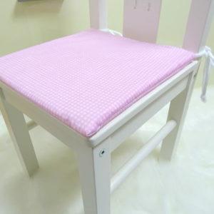 Stuhlkissen rosa
