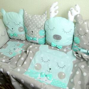 Nestchen 5 Kissen