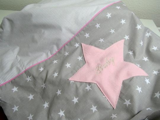 Babydecke rosa